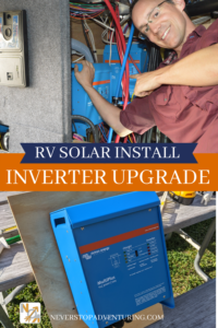 A pinnable image for RV solar install inverter upgrade