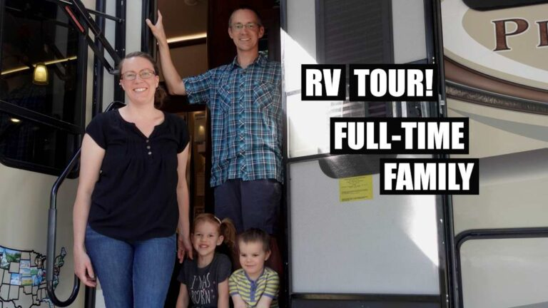 RV TOUR // Full Time Family of 4 // Living in a Jayco Pinnacle 37MDQS