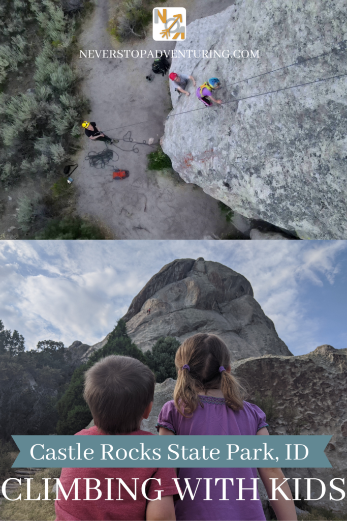 Pinable image Castle Rocks State Park ID Climbing with Kids