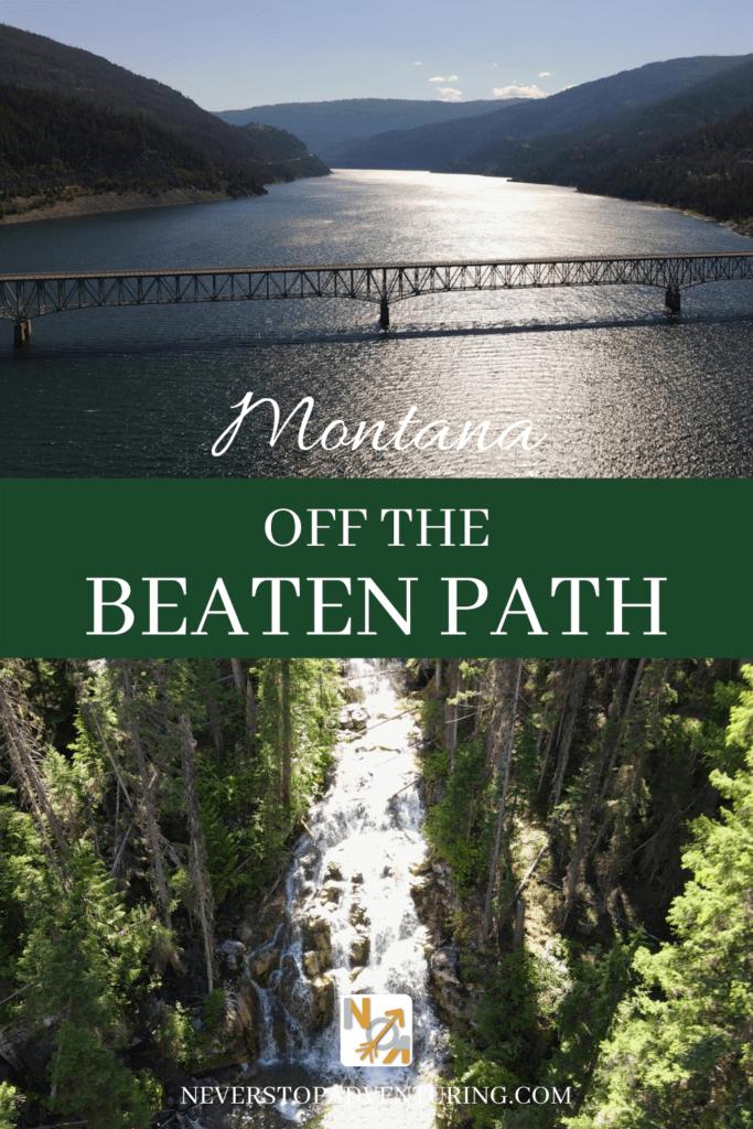Pinnable image of Montana Off the Beaten Path