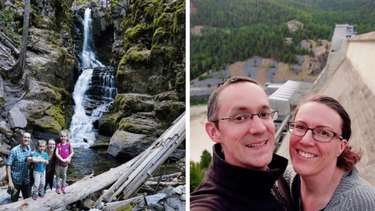 Northwest Montana Waterfalls | Lake Koocanusa | Libby Dam