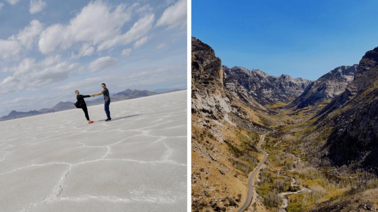 Bonneville Salt Flats & Lamoille Canyon