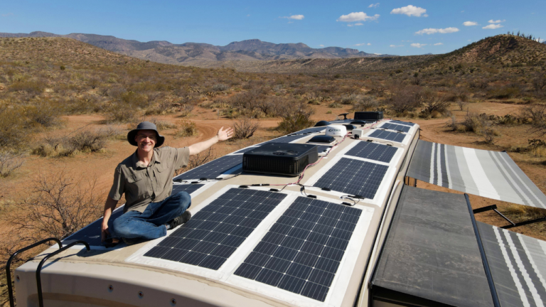 RV Solar System Lessons Learned
