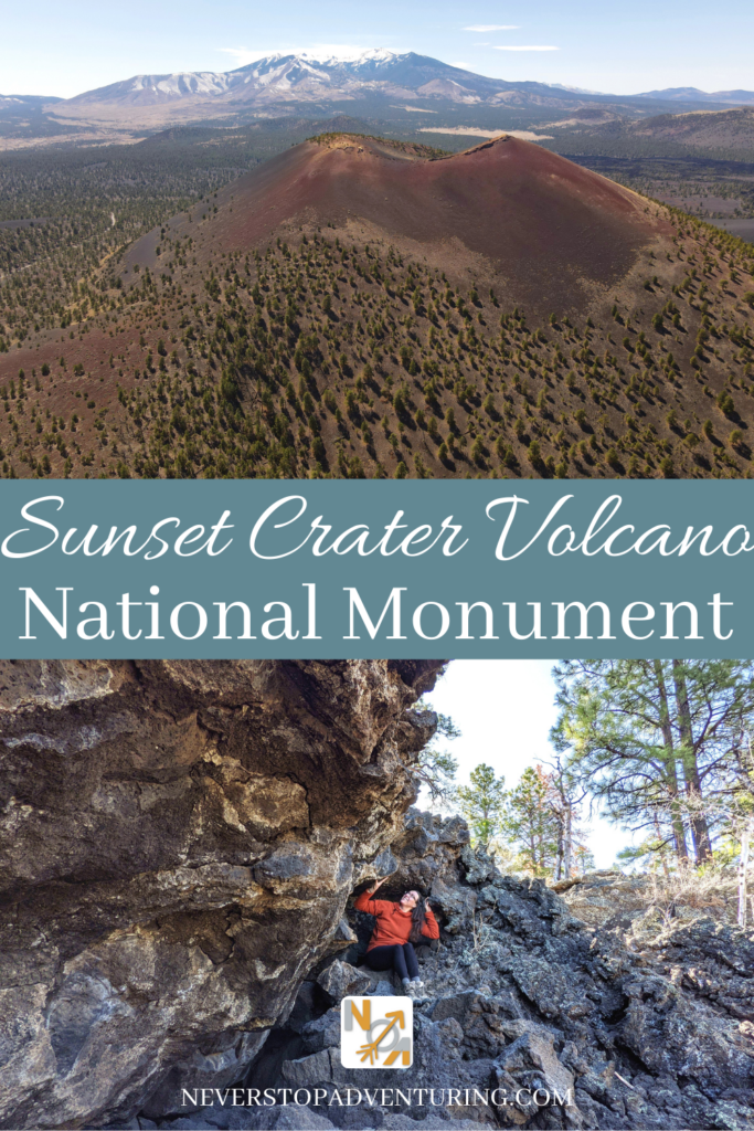 Pinnable image of Sunset Crater Volcano National Monument