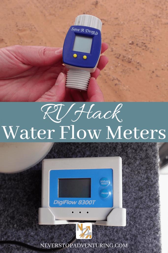 Two types of water flow meters