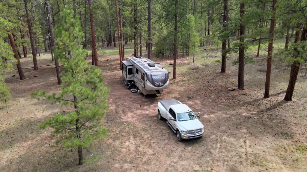 Forest Road 248 Campsite