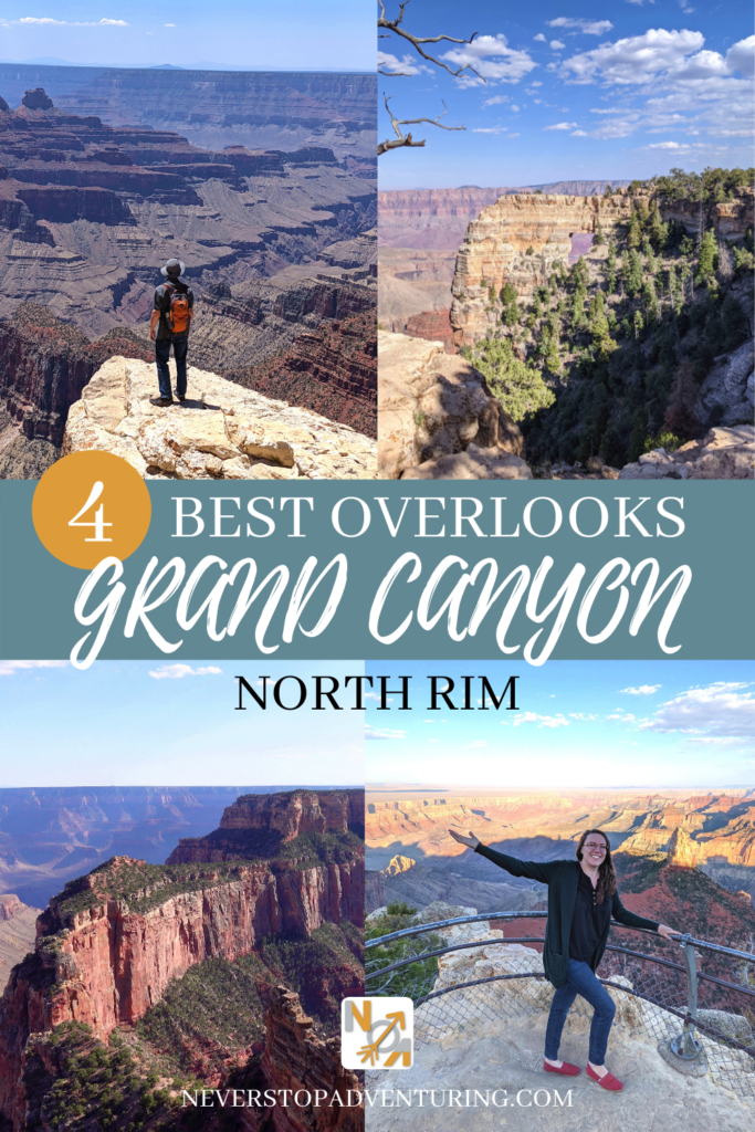 Pinnable image of 4 Overlooks at Grand Canyon North Rim
