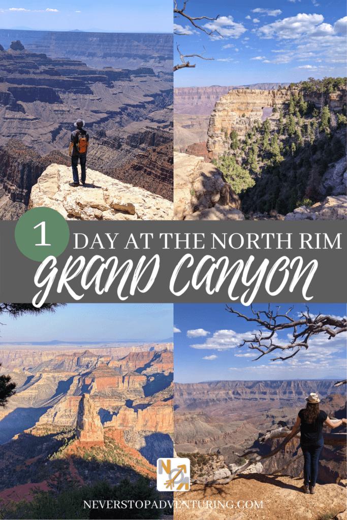 Pinnable image of 4 views at Grand Canyon North Rim