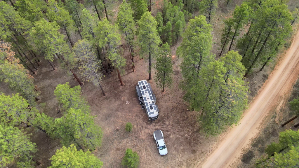 Camping in Kaibab National Forest