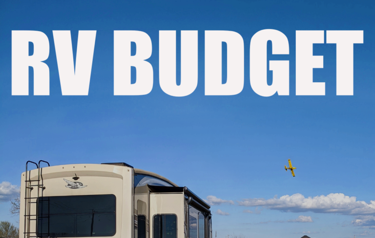 RVing Budget and Expense Report – June 2021