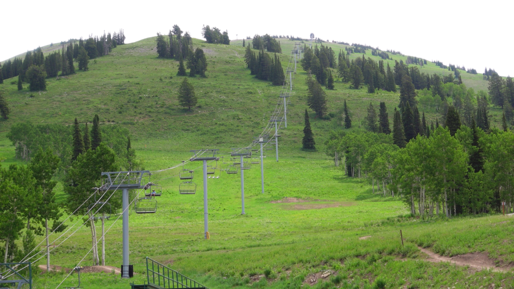 Summer Chairlift Ride