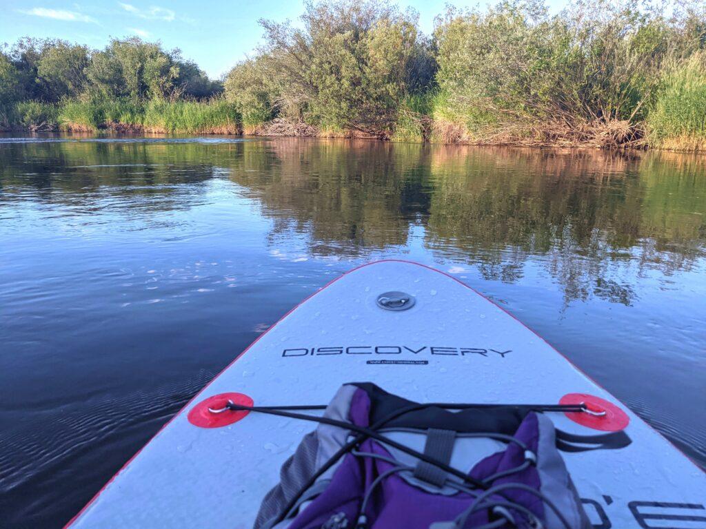 Paddleboard on the Teton River