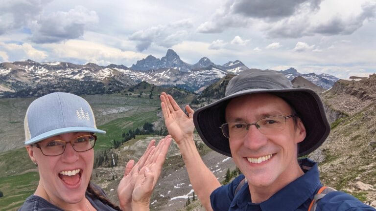 Amazing Views From Grand Targhee Resort Chairlift In Summer