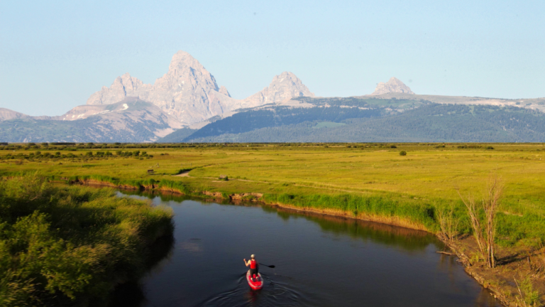 Teton River Stand Up Paddle Board Float Trip