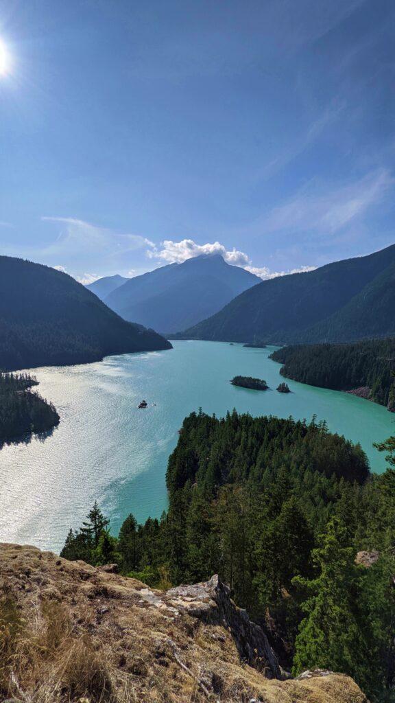 North Cascades National Park Lakes diablo lake overlook
