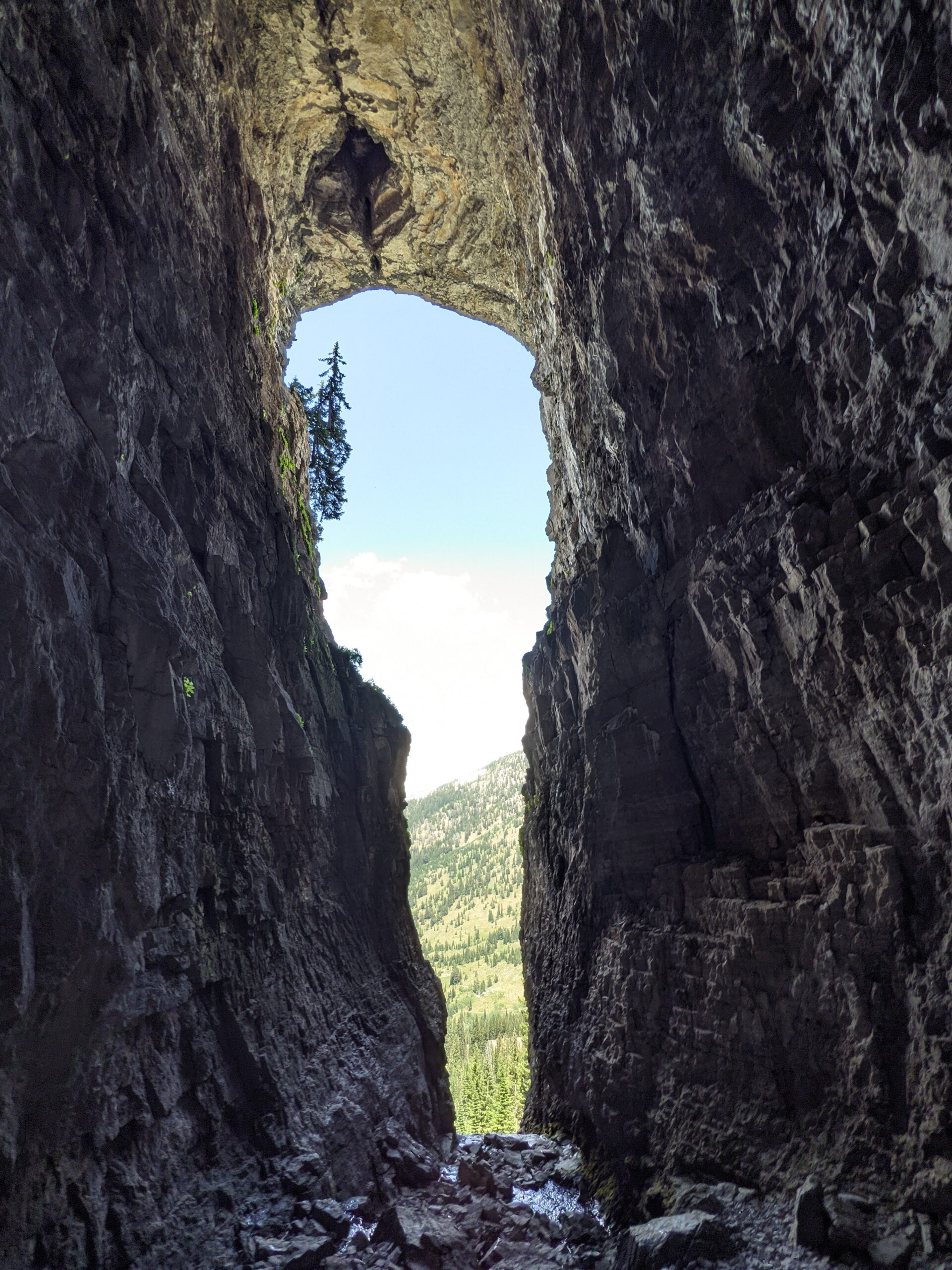 Inside Darby Wind Cave