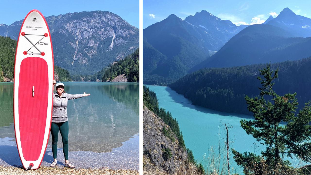 North Cascades National Park Lakes