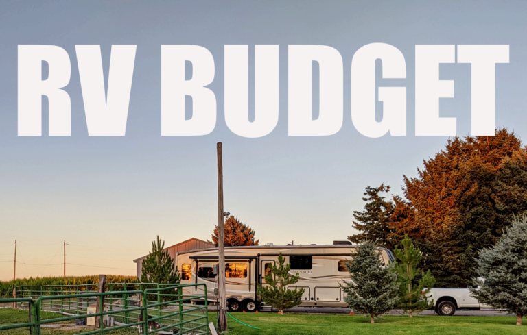 RV Budget and Expense Report – July 2021