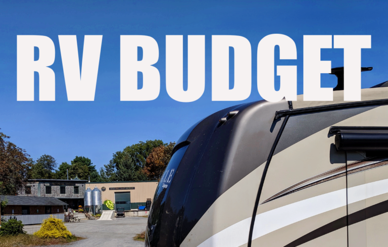 RV Budget and Expense Report – August 2021