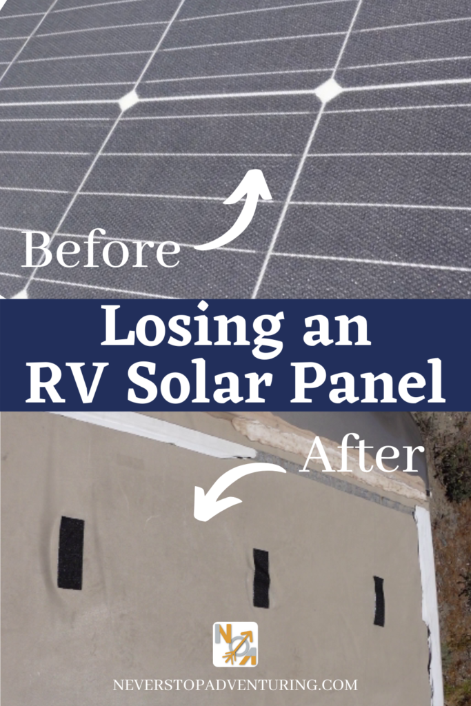 Pinnable image of a solar panel and a missing solar panel