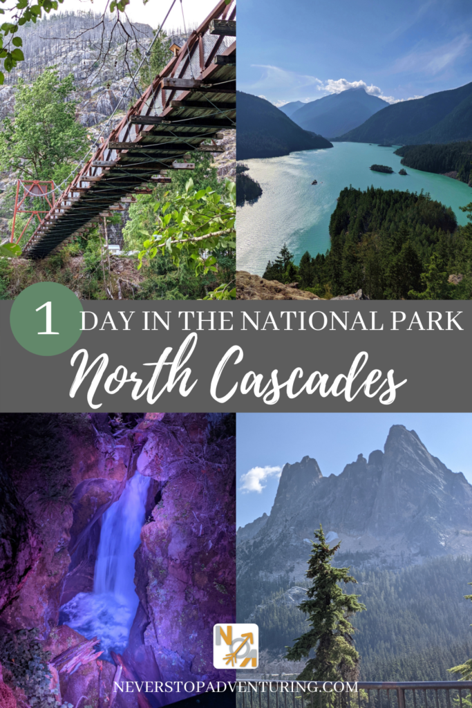 Pinnable image of 4 things to do at North Cascades