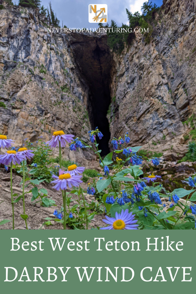 Pinnable image of the entrance to Darby Wind Cave